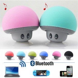 Mini bluetooth speaker paddestoel