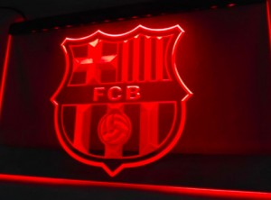 FC Barcelona LED lamp