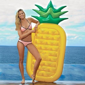 Grote ananas luchtbed - 180 cm