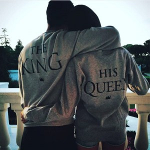 The King & His Queen trui