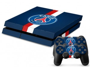 Paris Saint Germain skin Playstation 4